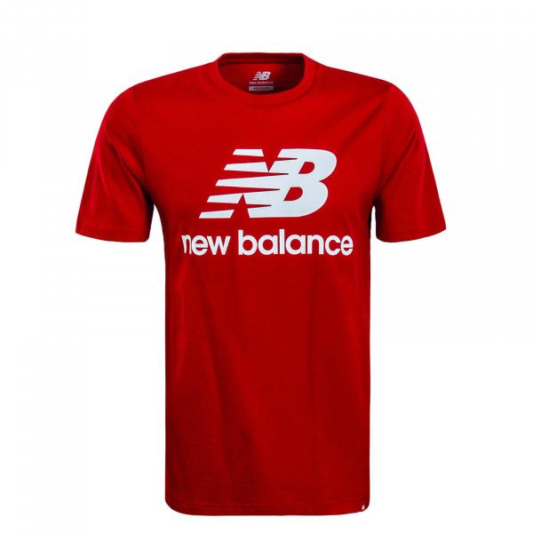 Herren T-Shirt MT91546 Red White