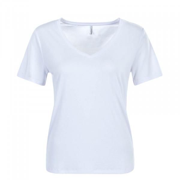 Damen T-Shirt Free Life White