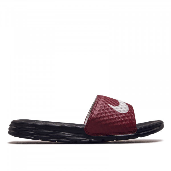Herren Slide Benassi Solarsoft Black Red