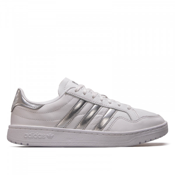 Damen Sneaker Team Court White Silver