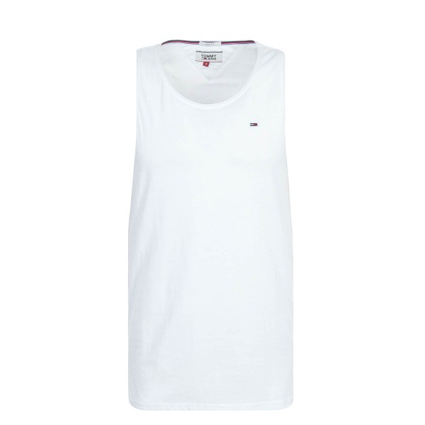 Tommy Tank Essential White