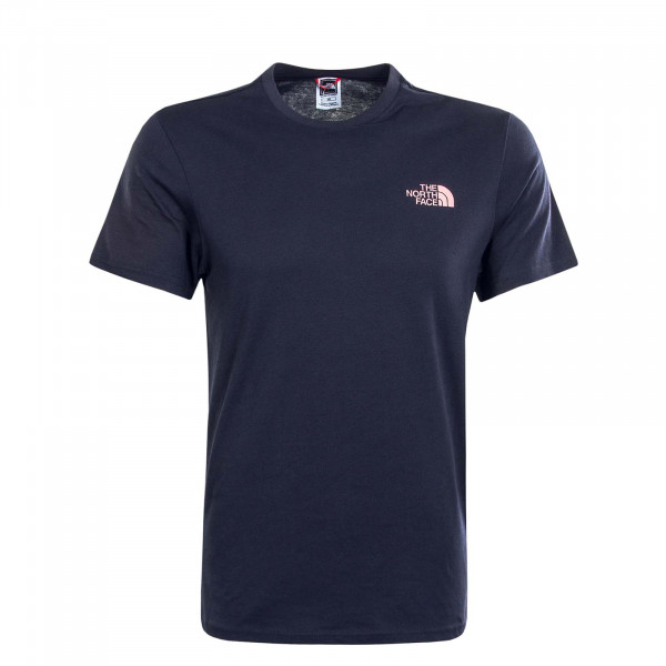 Herren T-Shirt Simple Dome Aviator Navy