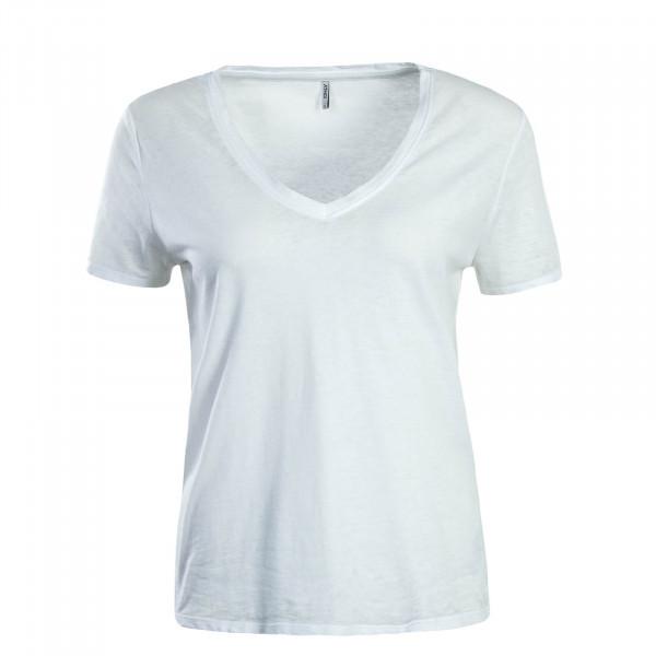 Damen T-Shirt Truly Off White