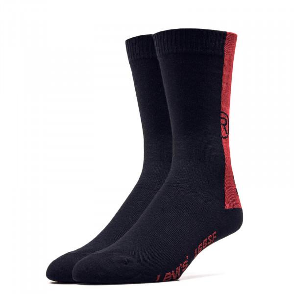 Socken - 2er-Pack 168 - Black Red
