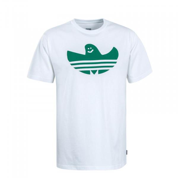 Herren T-Shirt Shmoo White Green