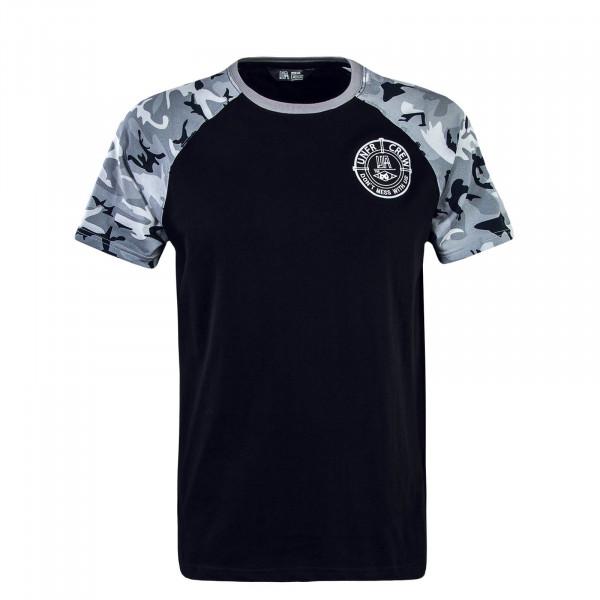 Herren T-Shirt 096 DMWU Snow Camouflage Black