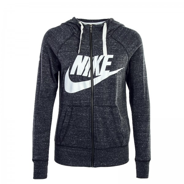 Nike Wmn Sweatjkt NSW GYM Grey White