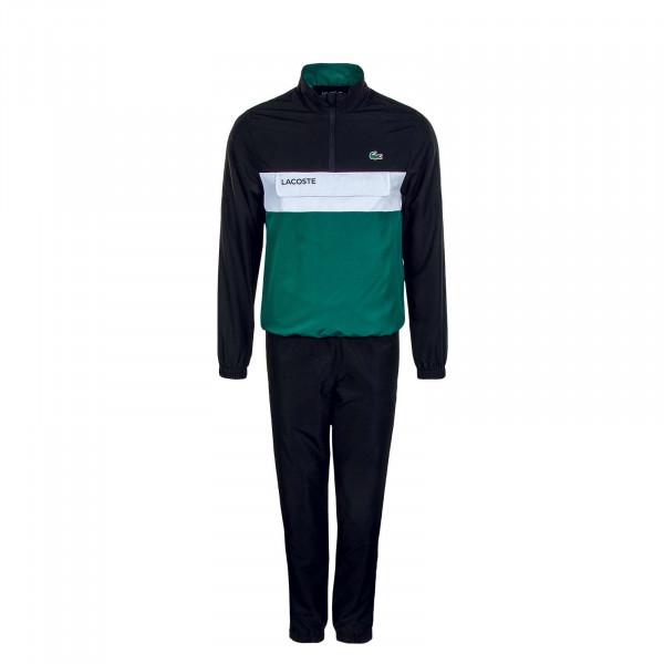 Herren Trainingsanzug - WH9540 - Black / Green / White