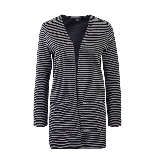 Only Cardigan Hannah Stripe  Grey Black