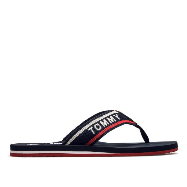 Tommy Schlappe Tommy Beach Navy Red Wht
