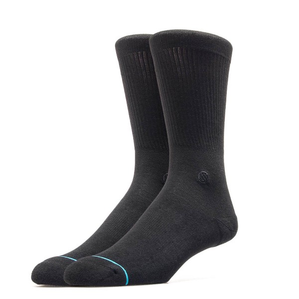 Stance Socks Uncom Solid Fashion Black