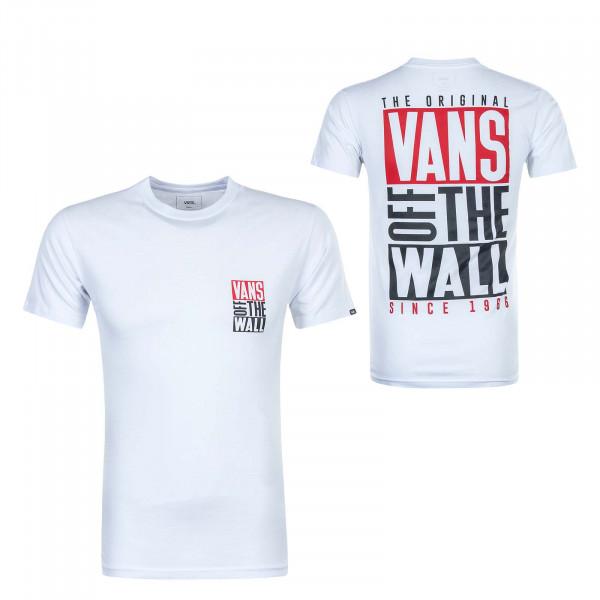 Herren T-Shirt New Stax White