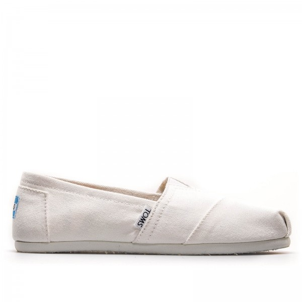 Toms Wmn Classic White