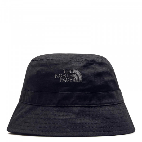 Hut Cotton Bucket Black