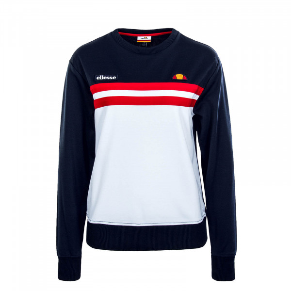 Damen Sweatshirt Taria Navy White Red