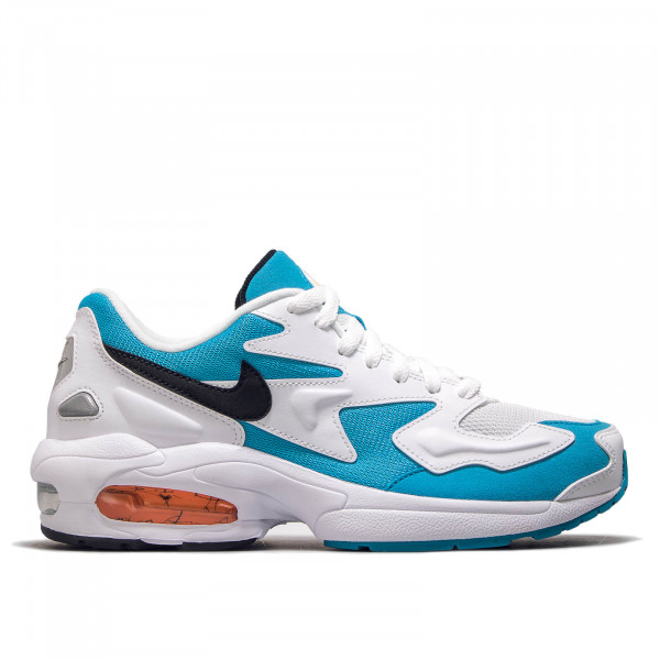 Air Max 2 Light White Blue Black