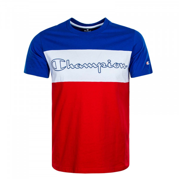 Herren T-Shirt 4244 Blue White Red