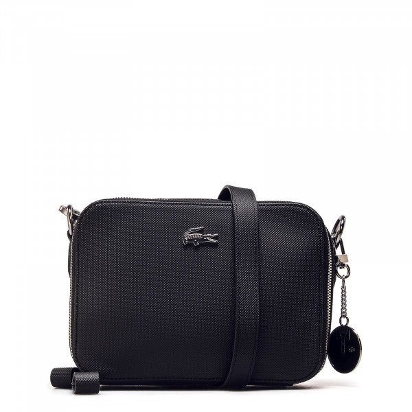 Handtasche Double Zip Crossover Black