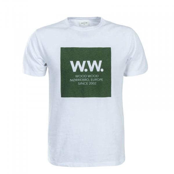 Wood Wood TS WW Square White Green