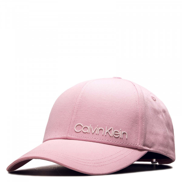 Cap Side Logo Rosa White