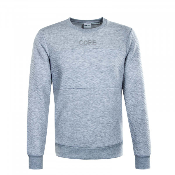 Herren Sweat Vettel Light Grey