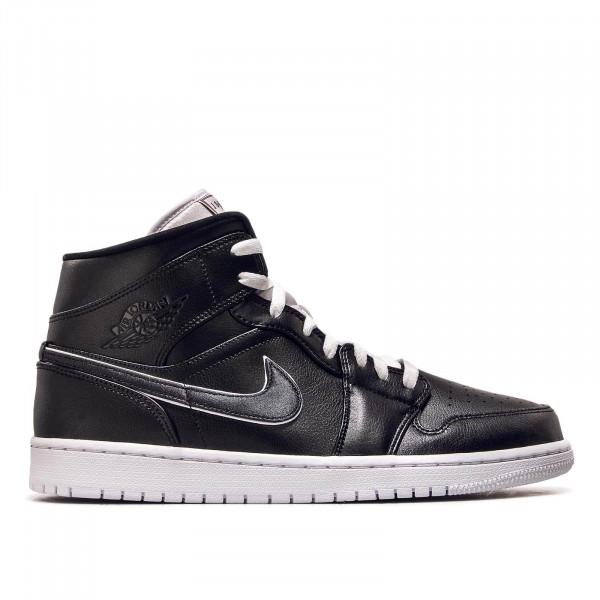 Herren Sneaker Air Jordan 1 Mid SE Black Black White