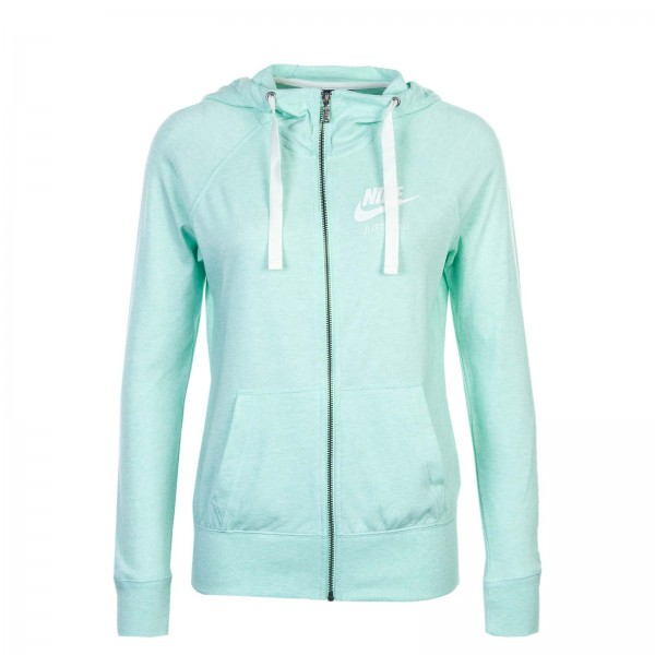 Nike Wmn Sweatjkt NSW Gym Vinta Mint Wh