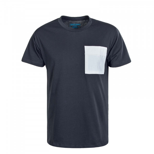 Herren T-Shirt Awake Tee SS Crew Pirate Black