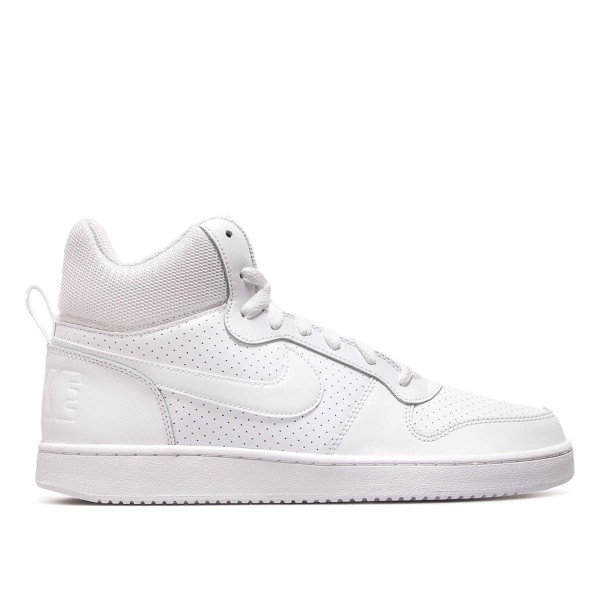 Nike Court Borough Mid White