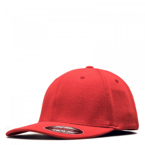 Cap Flexfit Double Jersey Red