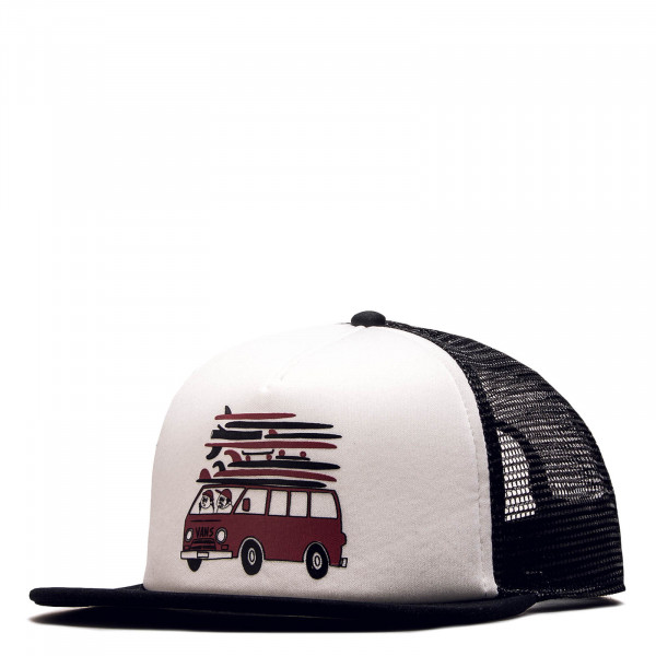 Vans Cap Fulton Black White