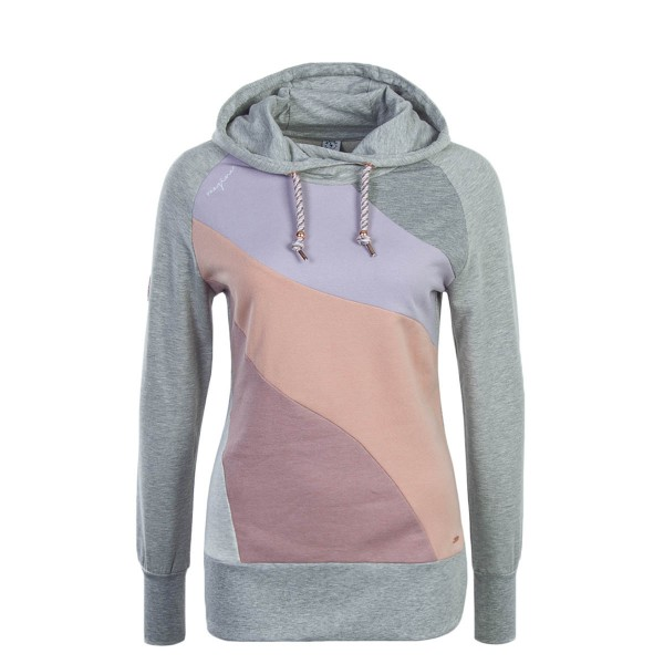 Mazine Wmn Hoody Ervie Light Grey Multi