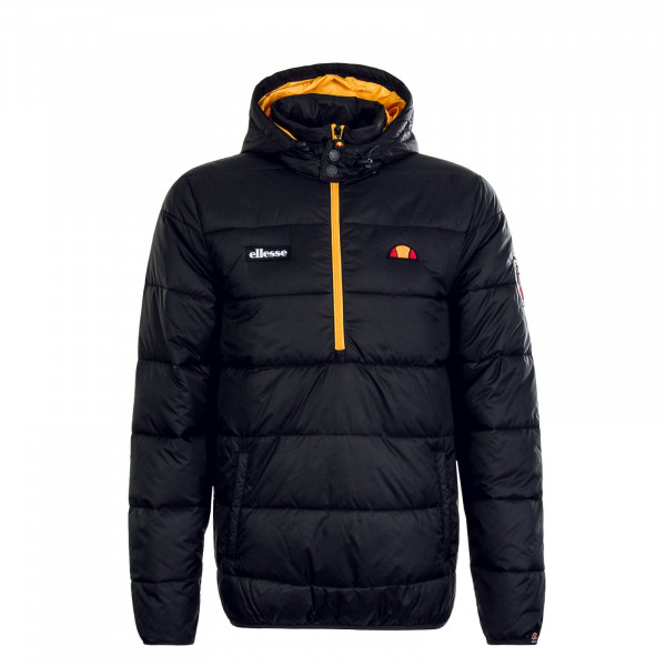 Herren Windbreaker Narni Black Yellow