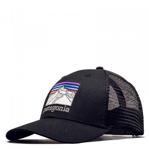 Trucker Cap Line Logo Ridge Black