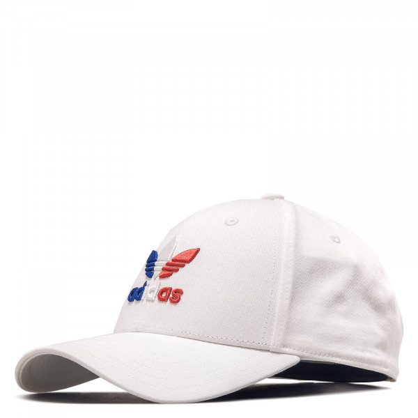 Cap Baseball Classic Trefoil White Royal