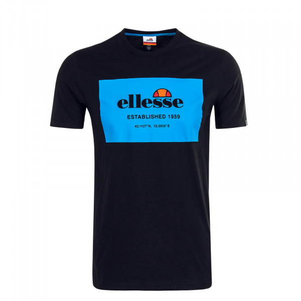 Herren T-Shirt Grosso Black Blue