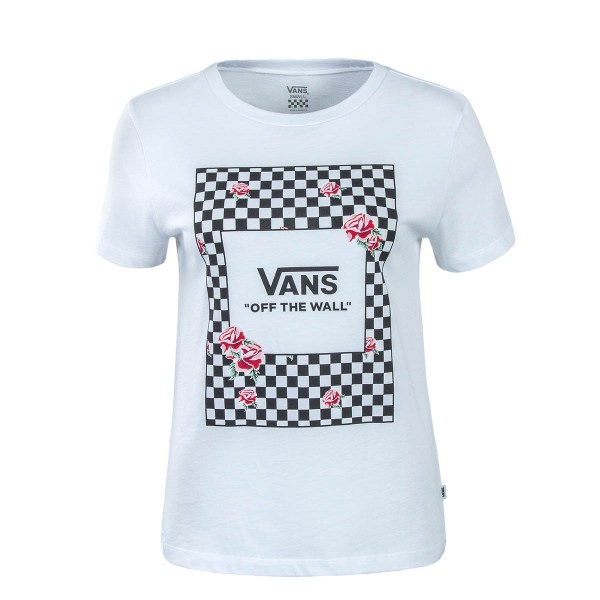 Vans Wmn TS Boxed Rose Check White