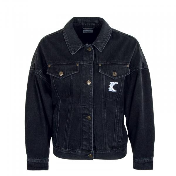Damen Jeansjacke - Washed Jacket - Black