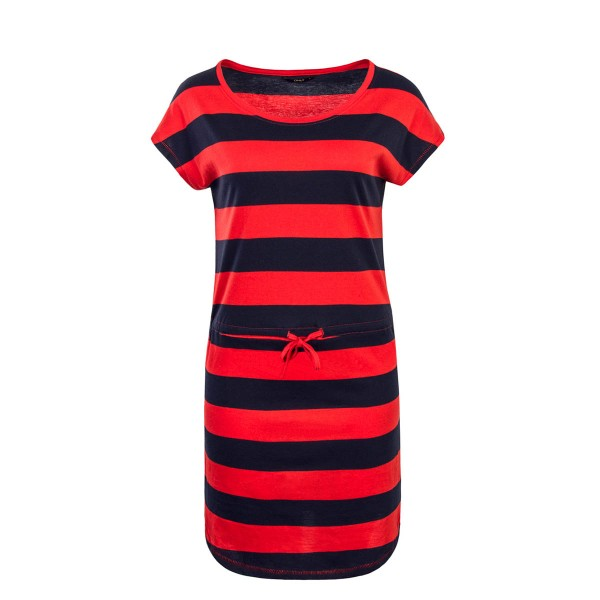 Only Dress May Navy Red Stripe