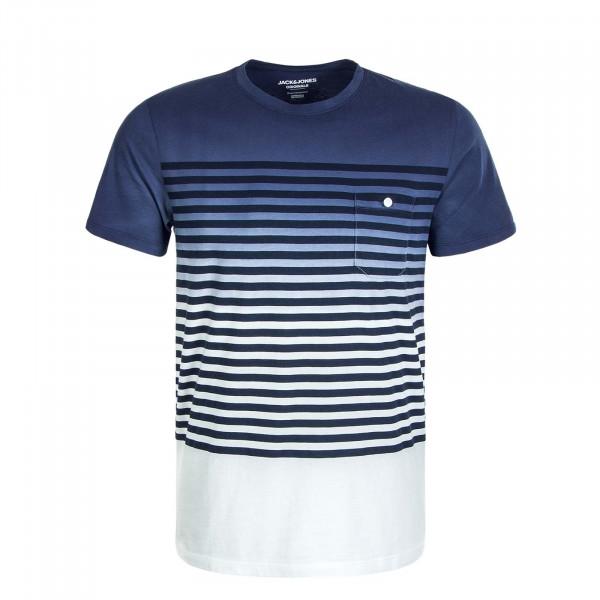 Herren T-Shirt Grade Crew Neck Navy Blazer Fit