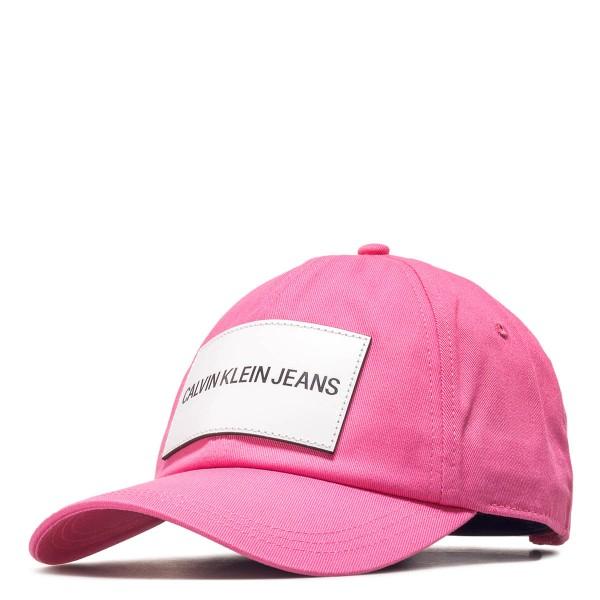 CK Cap J Pink White