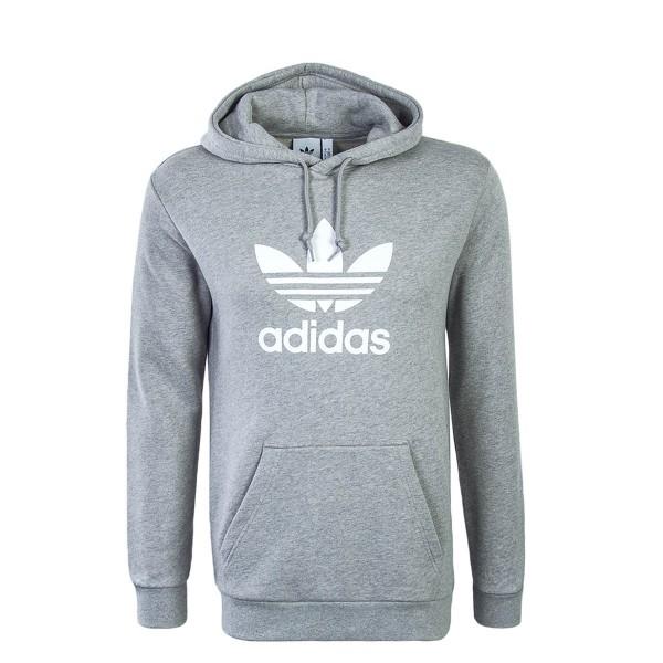 Adidas Hoody Trefoil Grey White