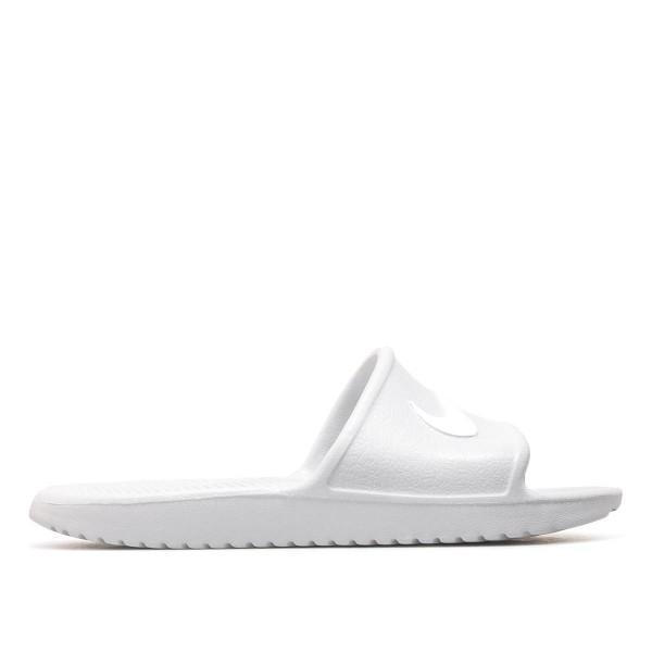 Nike Wmn Schlappe Kawa Platinum White