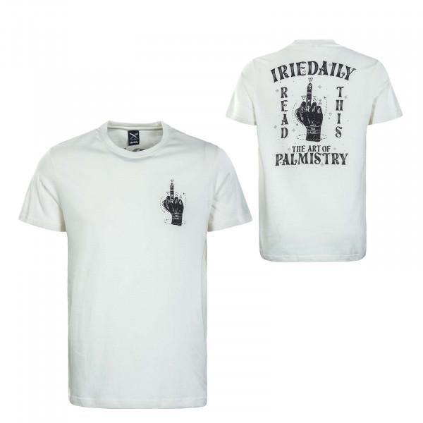 Herren T-Shirt - Palmistry - Off White