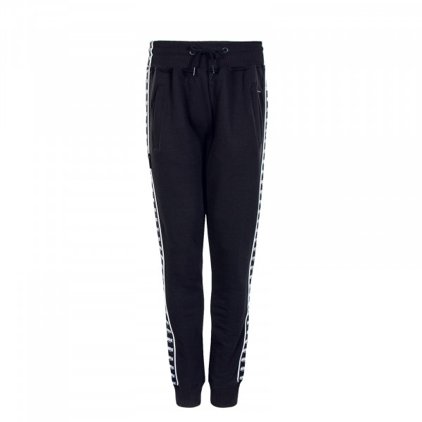 Classic Label Taped Trackpant Black Wht