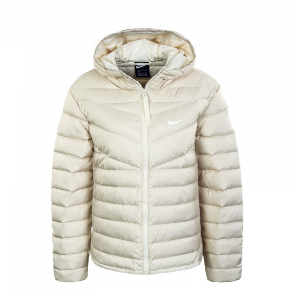 Damen Jacke NSW WR LT Down Fill Oatmeal Yvory White