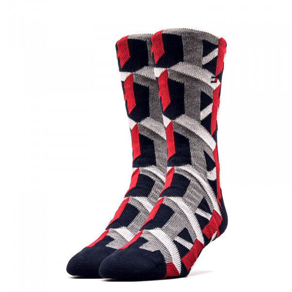 Socken 492028001 Black Red White