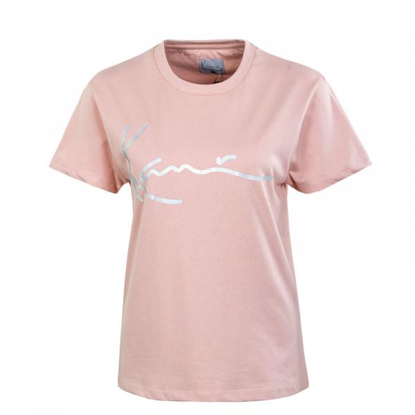 Damen T-Shirt - KK Signature - Rose