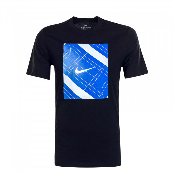 Herren T-Shirt NSW Core 2 Black Blue