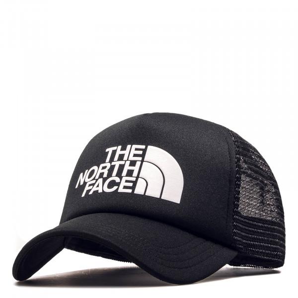 Cap Trucker Logo Black White